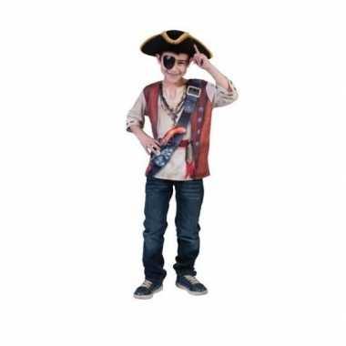 Piraten t shirt voor kinderen